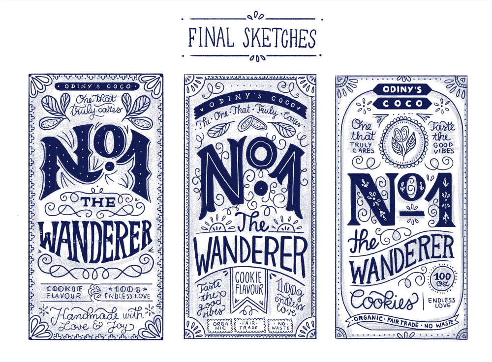 Hand Lettering for the Holidays - lesson No.3 - image 7 - student project