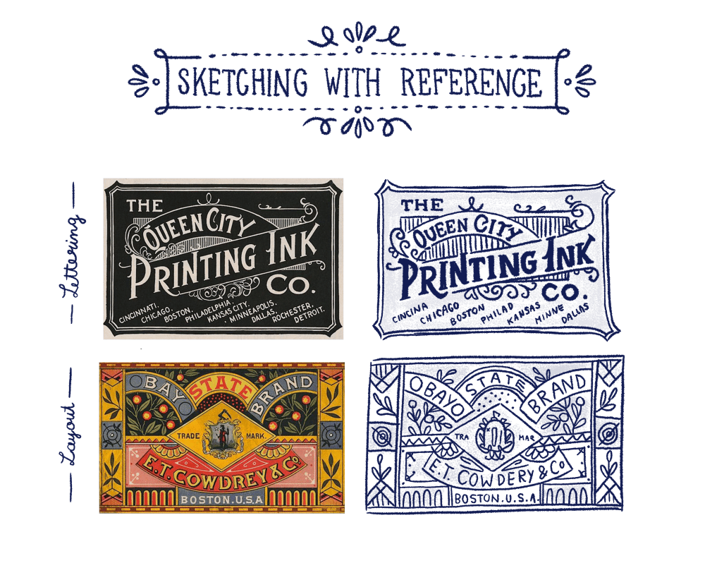 Hand Lettering for the Holidays - lesson No.3 - image 4 - student project