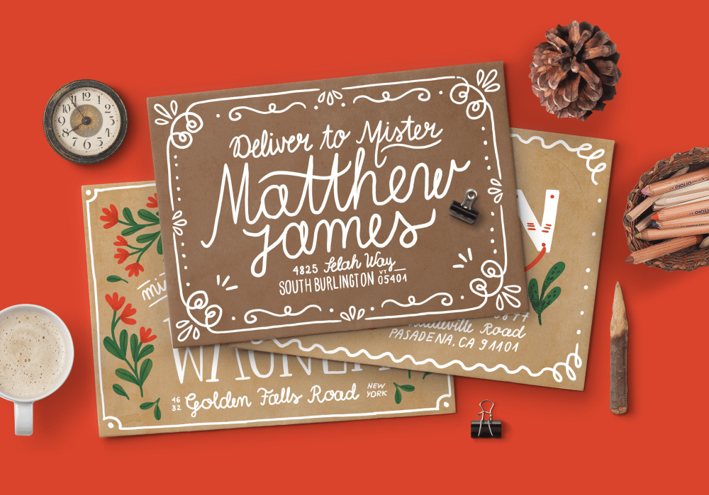 Hand Lettering for the Holidays - lesson No.1 - image 8 - student project
