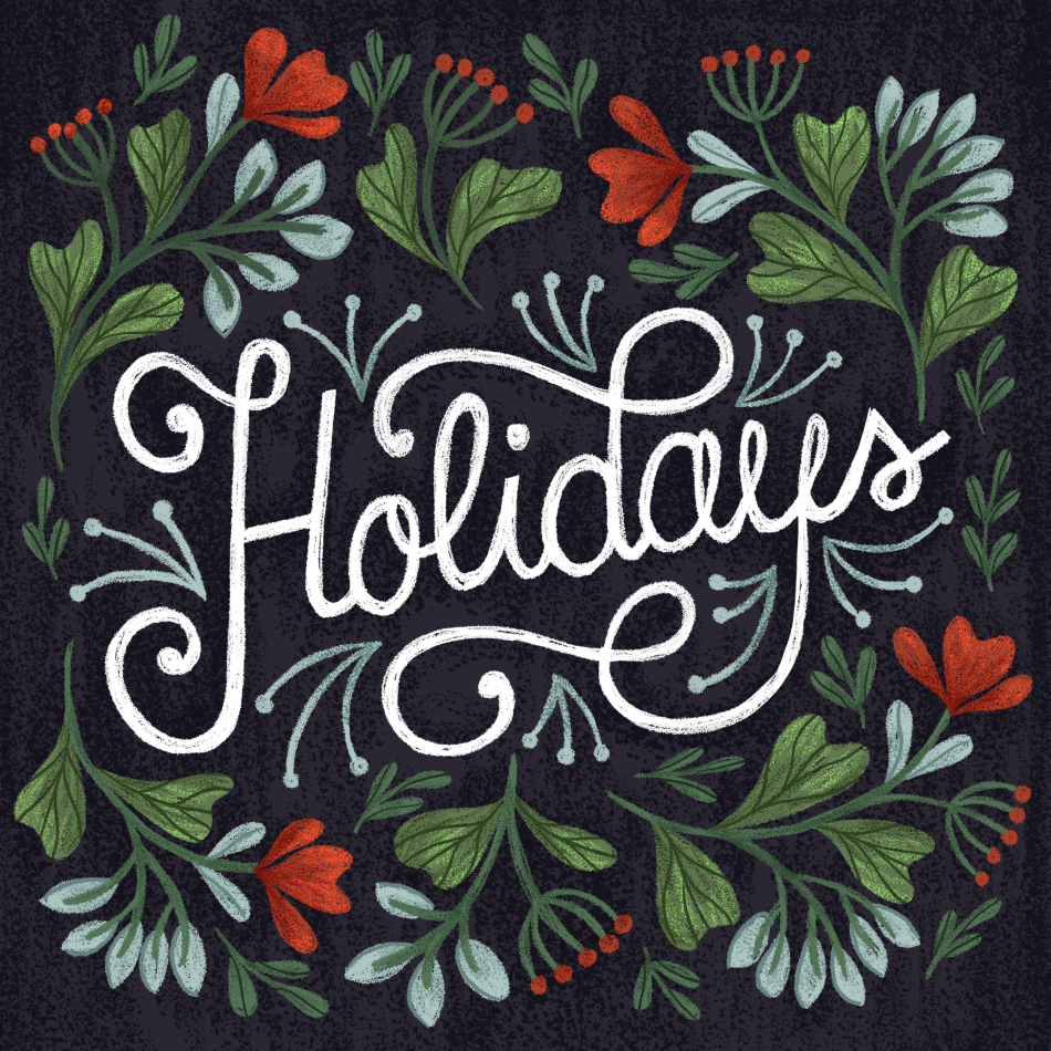 Hand Lettering for the Holidays - lesson No.2 - image 8 - student project