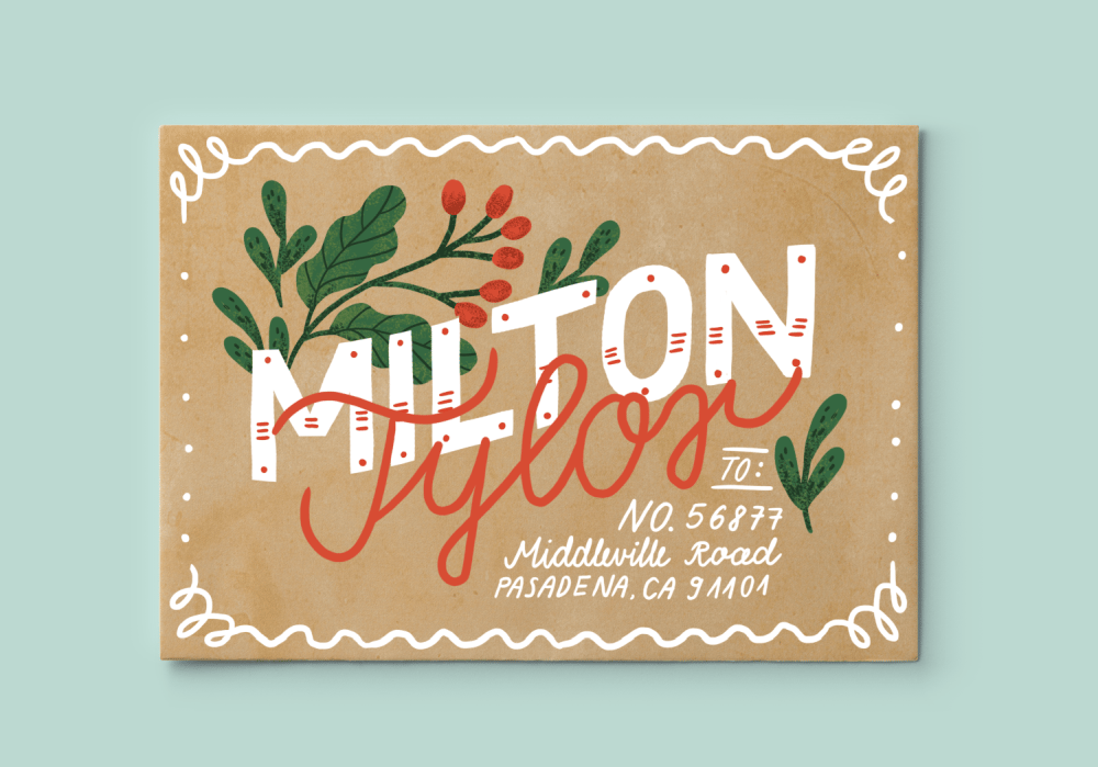 Hand Lettering for the Holidays - lesson No.1 - image 5 - student project