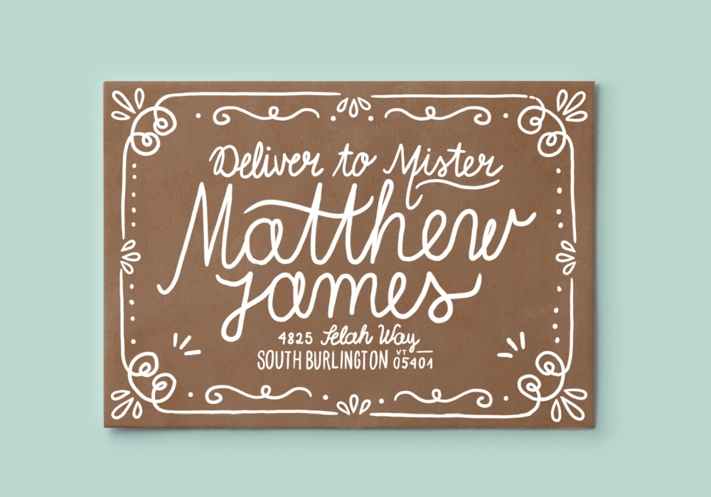 Hand Lettering for the Holidays - lesson No.1 - image 6 - student project