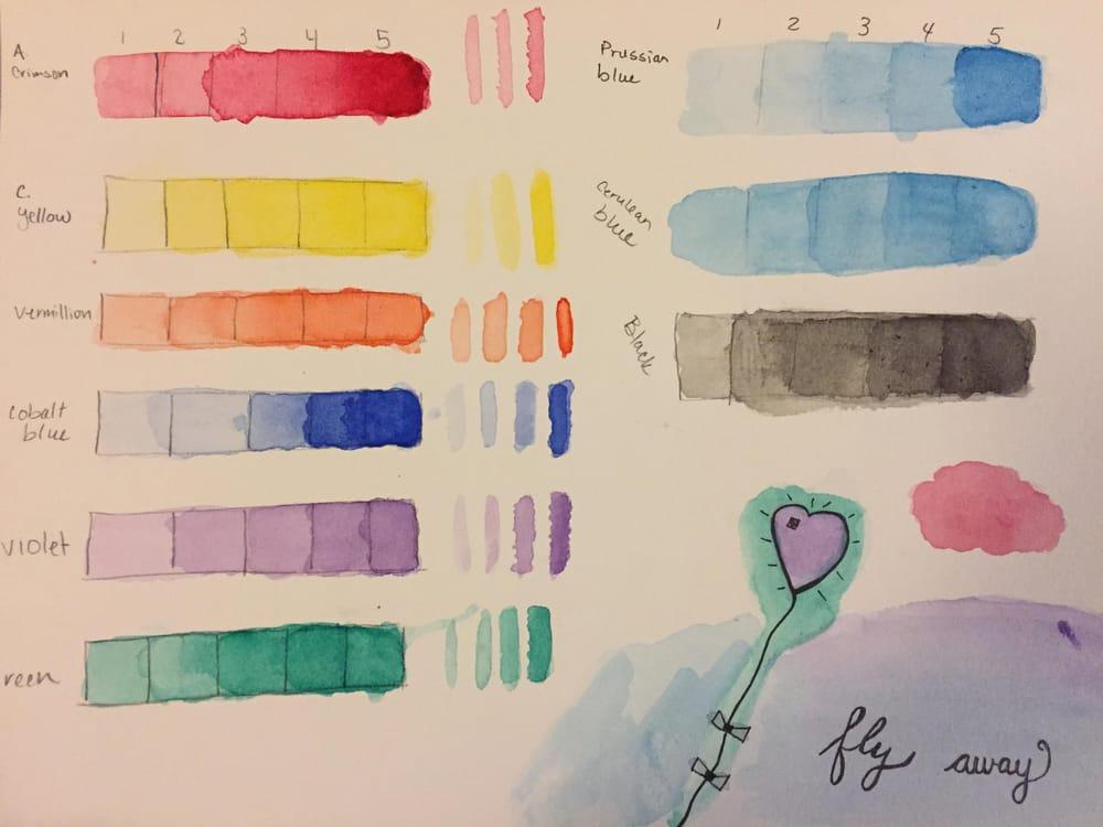 Watercolors Progress - image 1 - student project