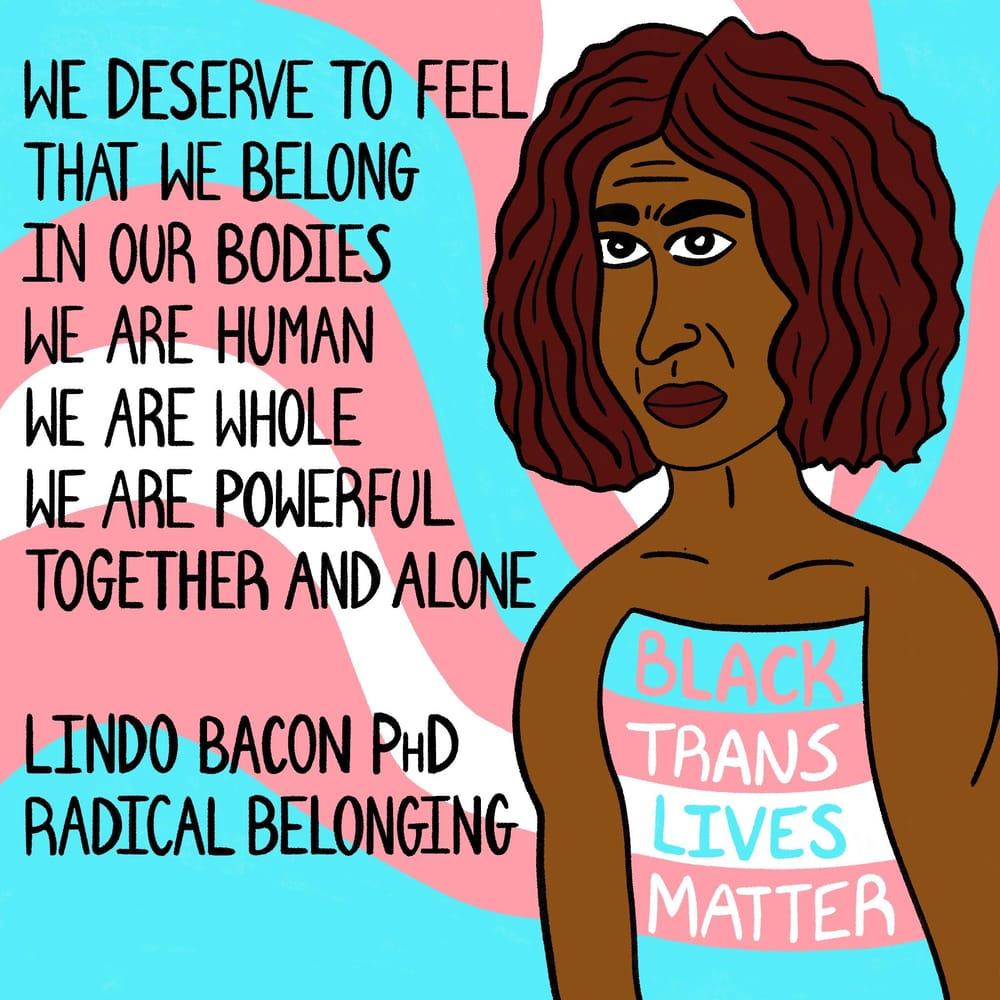 Black Trans Lives Matter - image 1 - student project