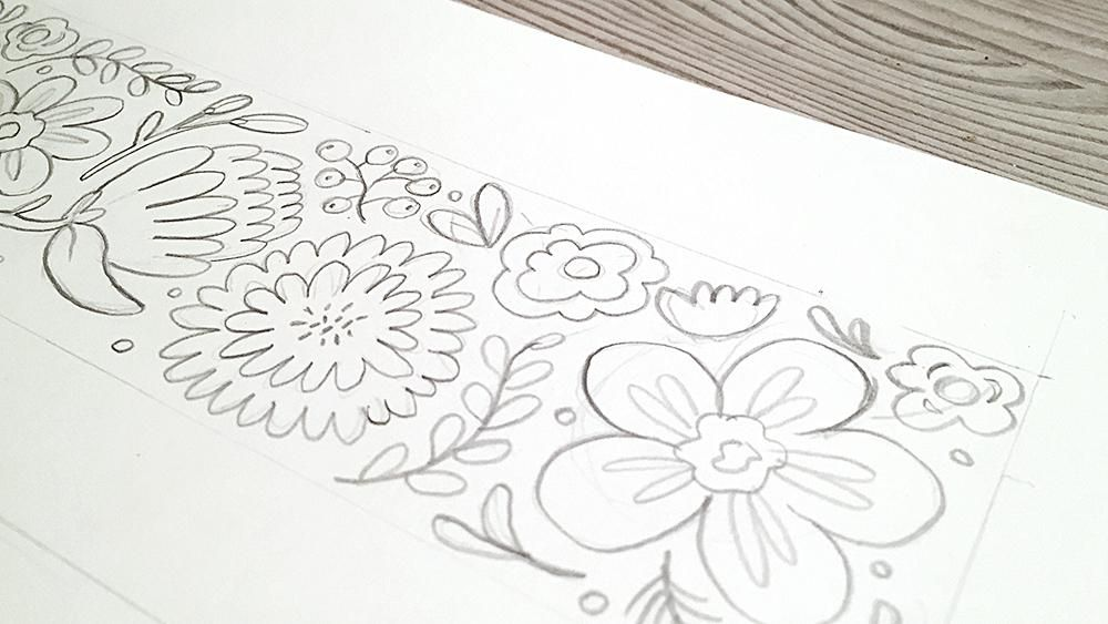 Retro flowers - image 3 - student project