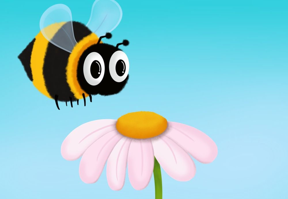 This Flower is Bee Approved - image 1 - student project