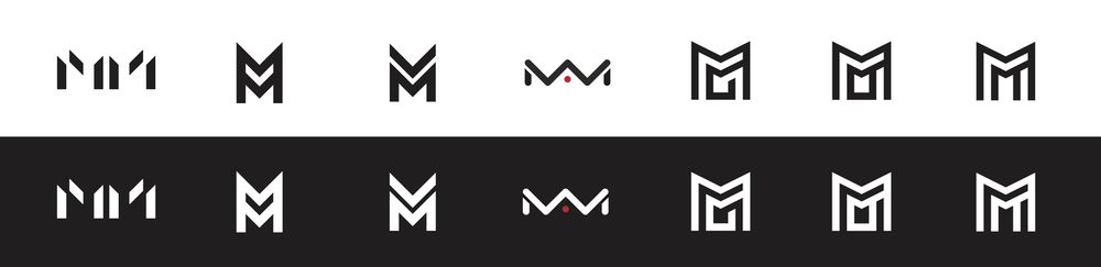 """""""MM"""" Logo - image 1 - student project"""