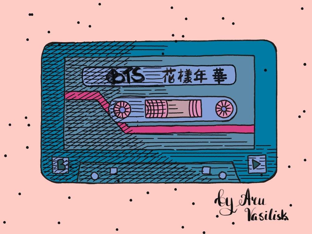 BTS cassette - image 2 - student project