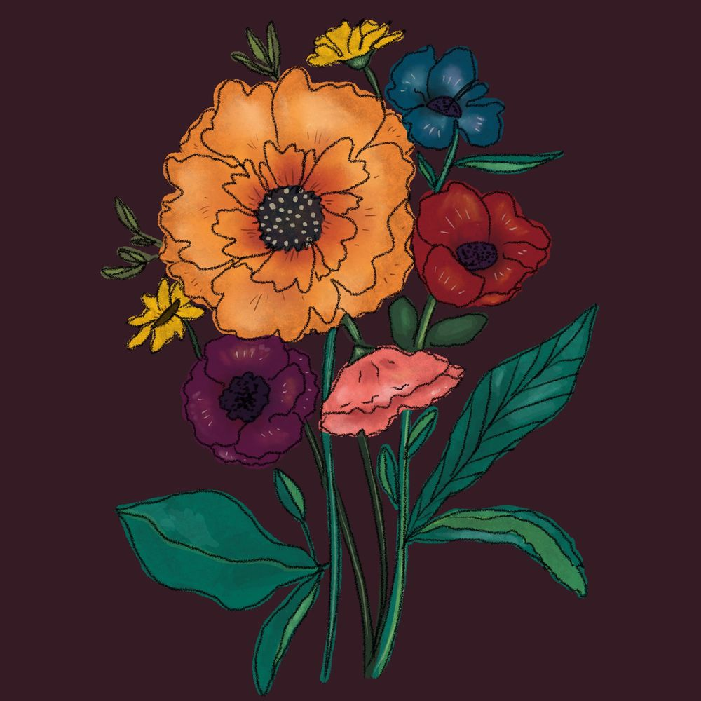 Floral Pattern - image 1 - student project