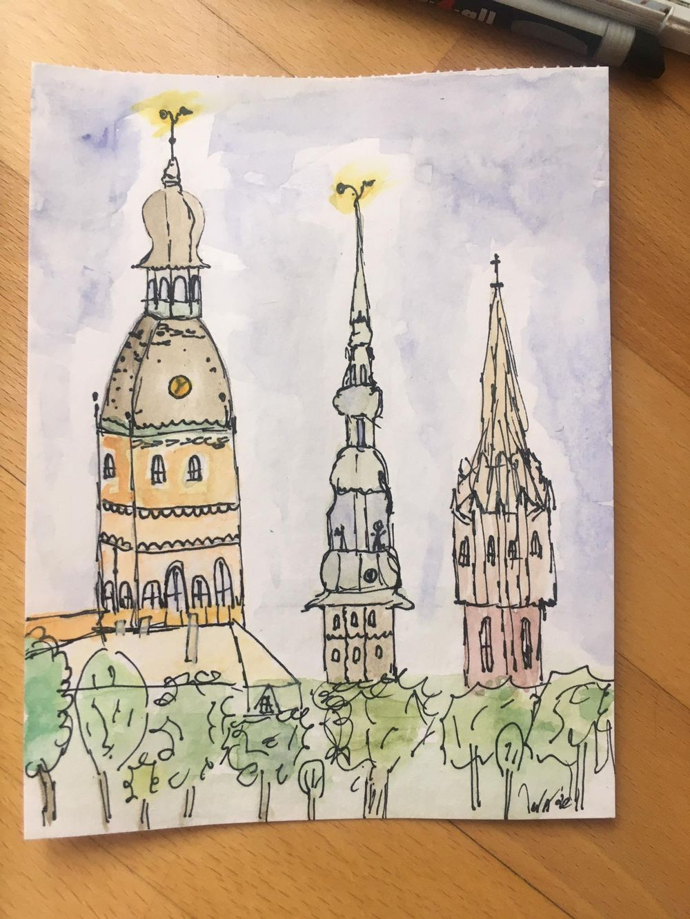 Riga, Europe. Thanks, Peggy! - image 1 - student project