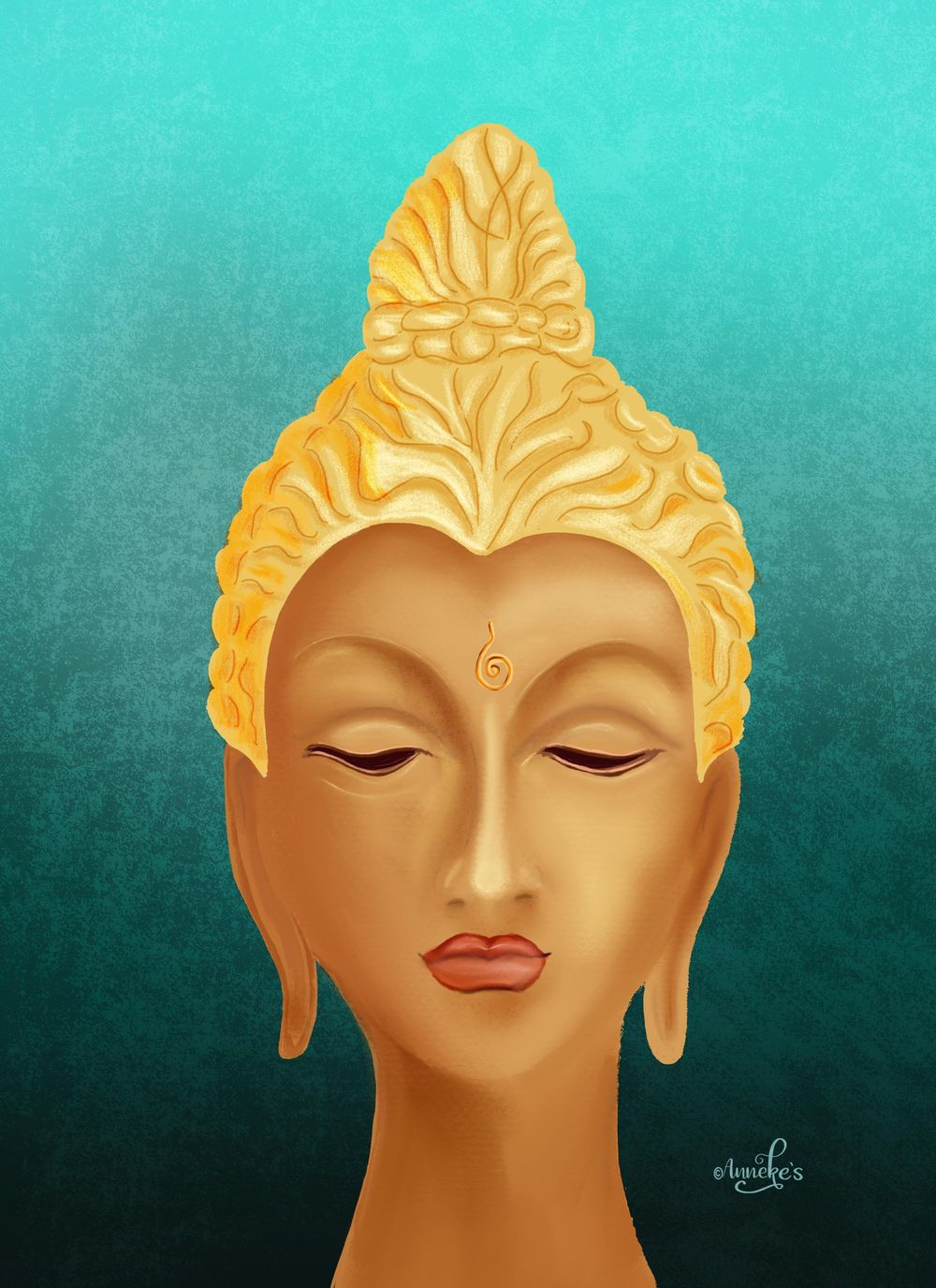 My female Buddha - image 1 - student project