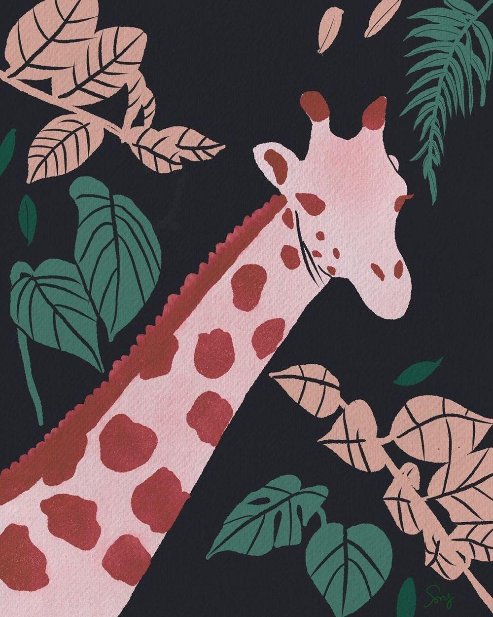SummerGiraffe - image 2 - student project