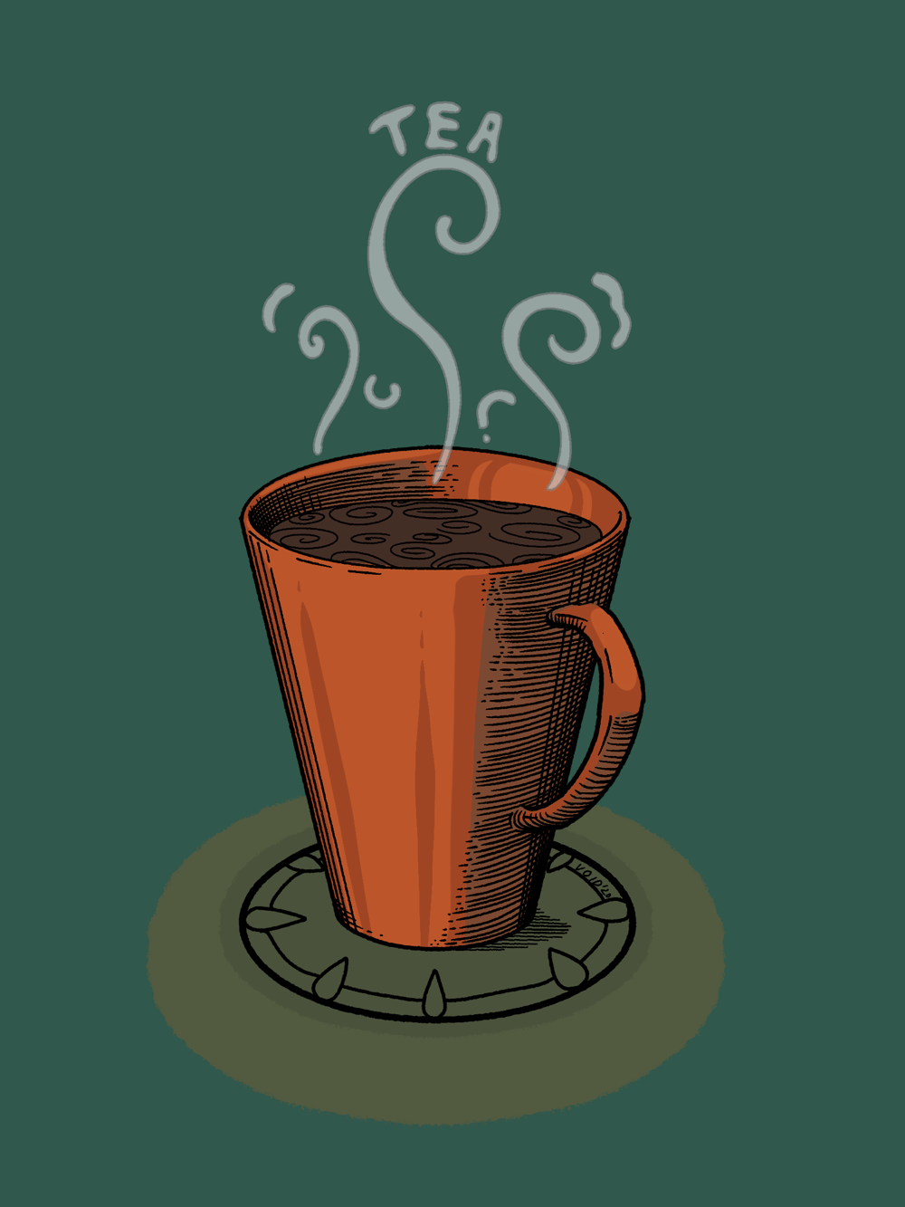 Tea and Music - image 2 - student project