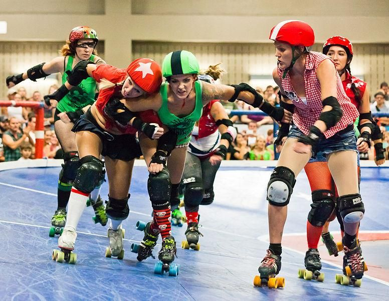 All-Purpose Roller Derby tracker - image 1 - student project