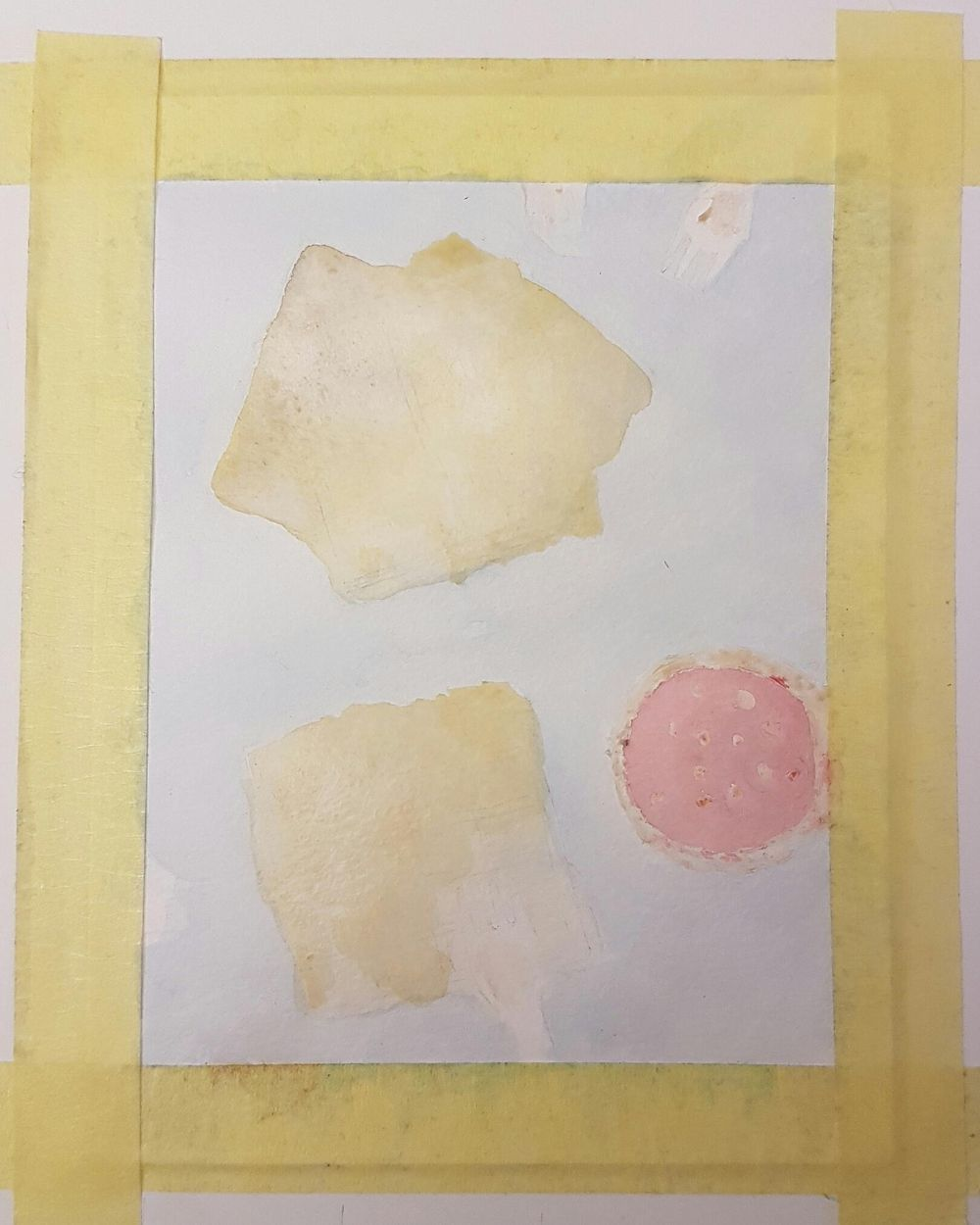 Practice Connecting things in Watercolor - Waffles - image 2 - student project
