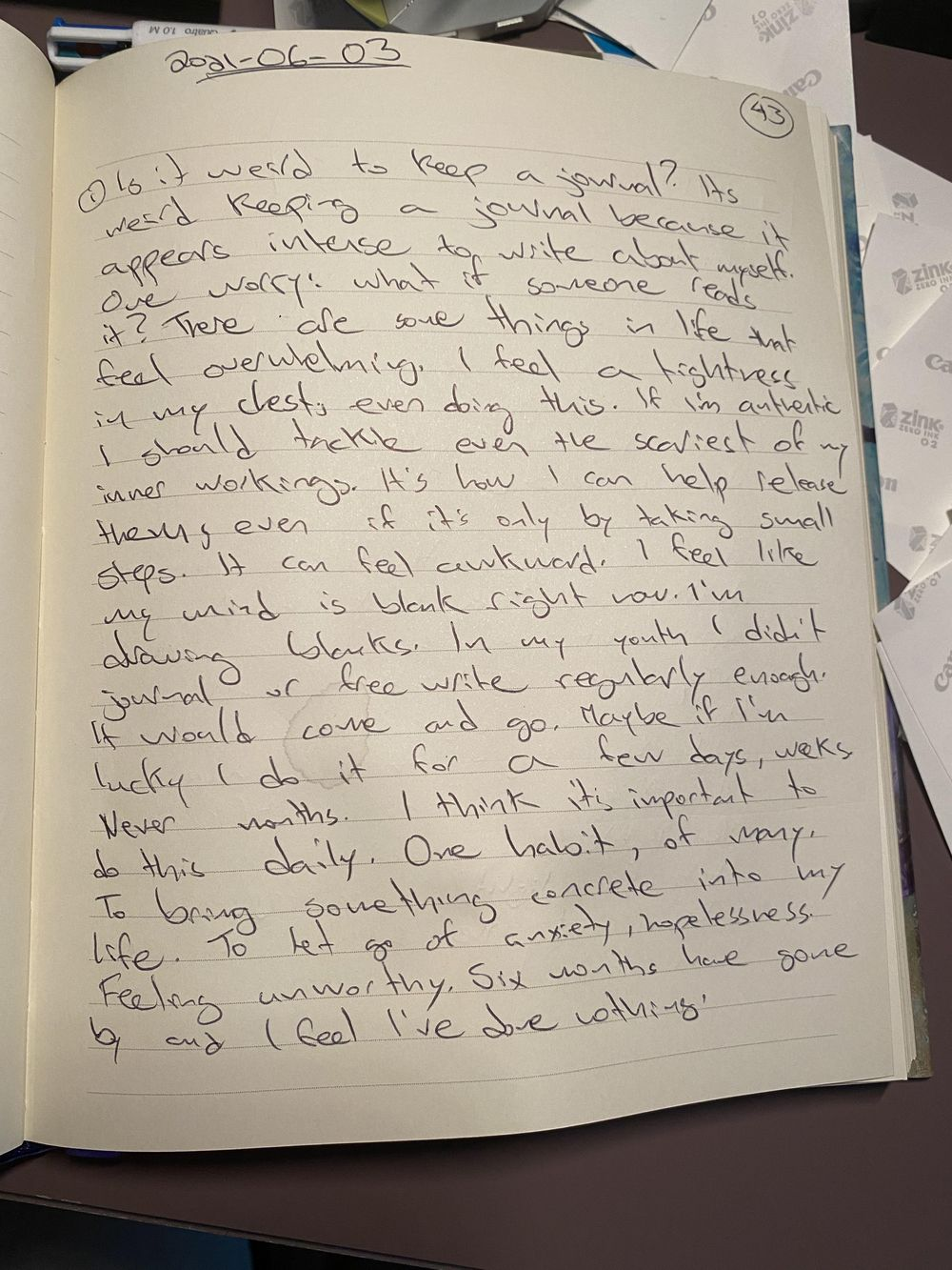 My journal journey… - image 1 - student project