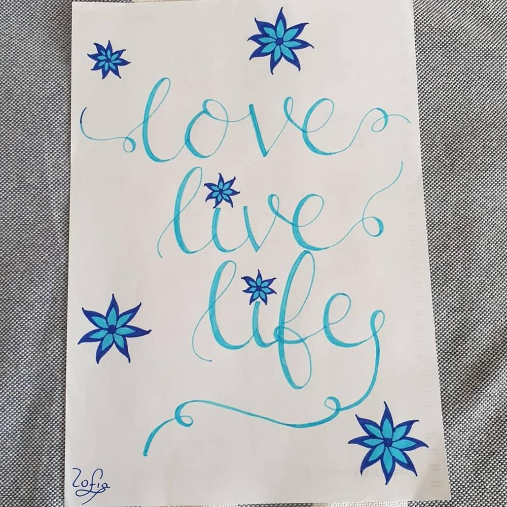 Love live life - image 1 - student project