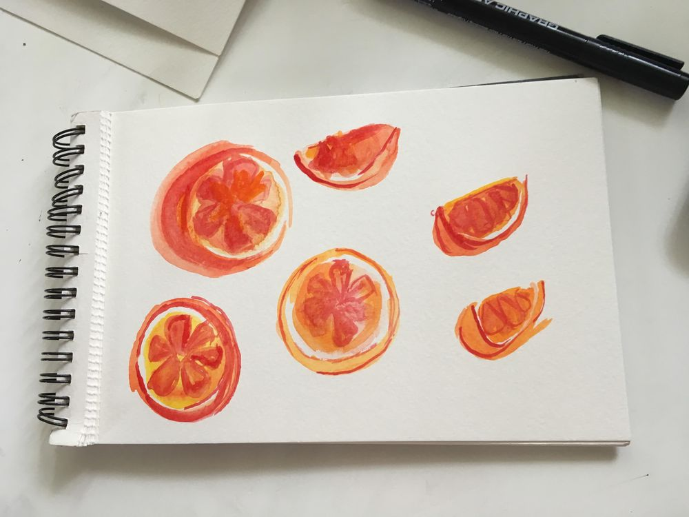 My Daily Watercolor Sketching - image 1 - student project