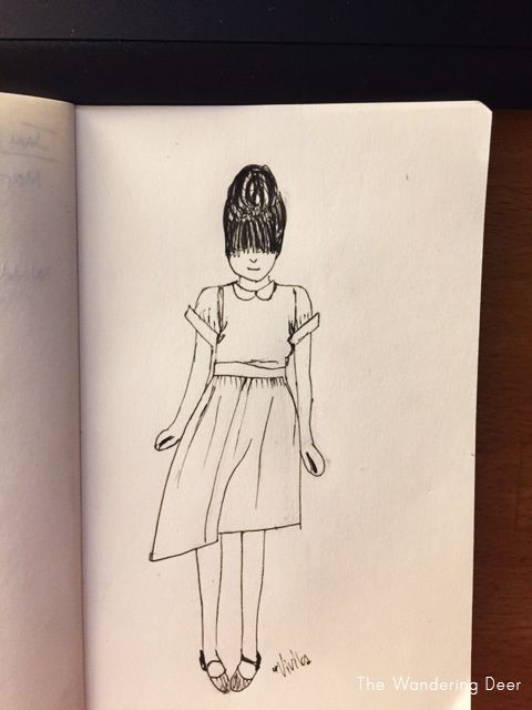 The girl in the polka dot dress - image 5 - student project