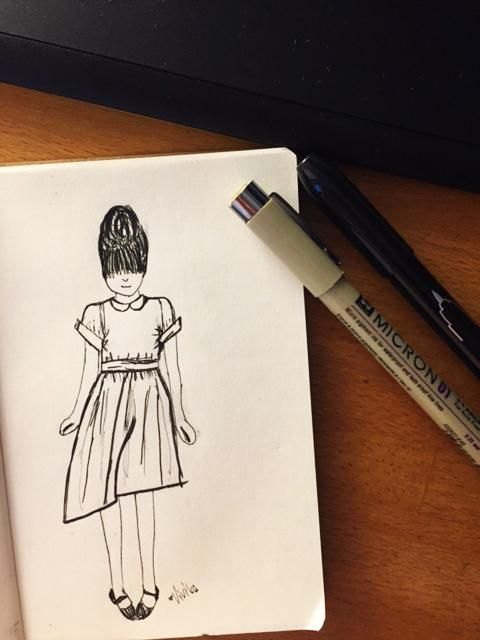 The girl in the polka dot dress - image 6 - student project