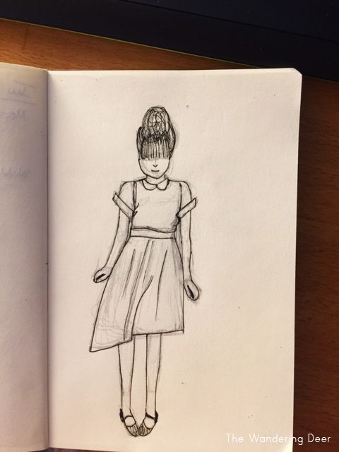 The girl in the polka dot dress - image 4 - student project