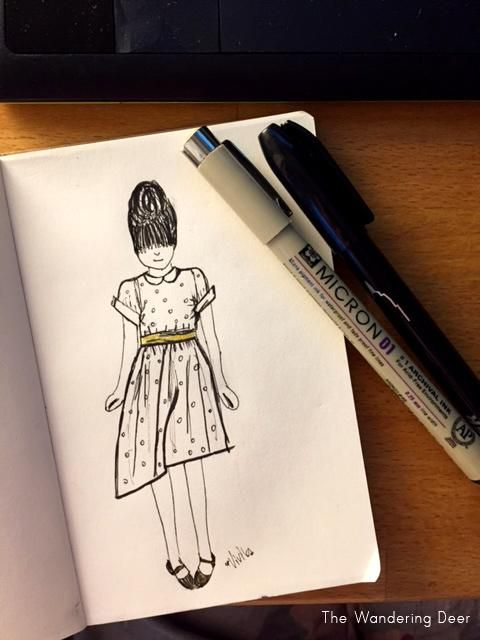 The girl in the polka dot dress - image 1 - student project