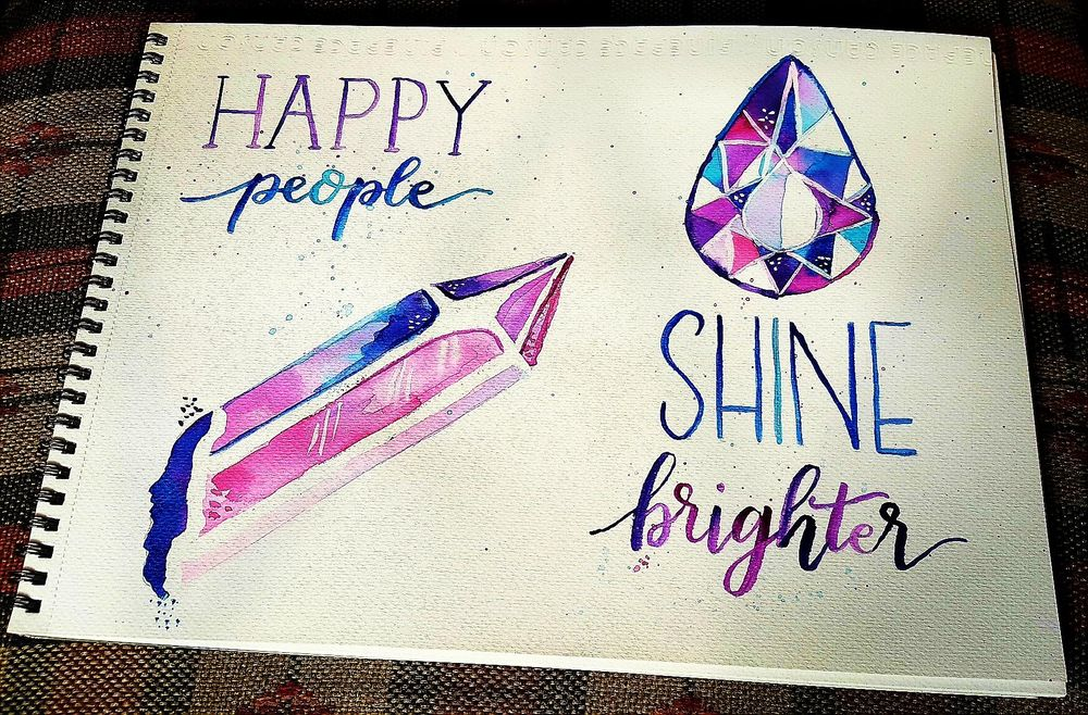 Happy people shine brighter - image 2 - student project