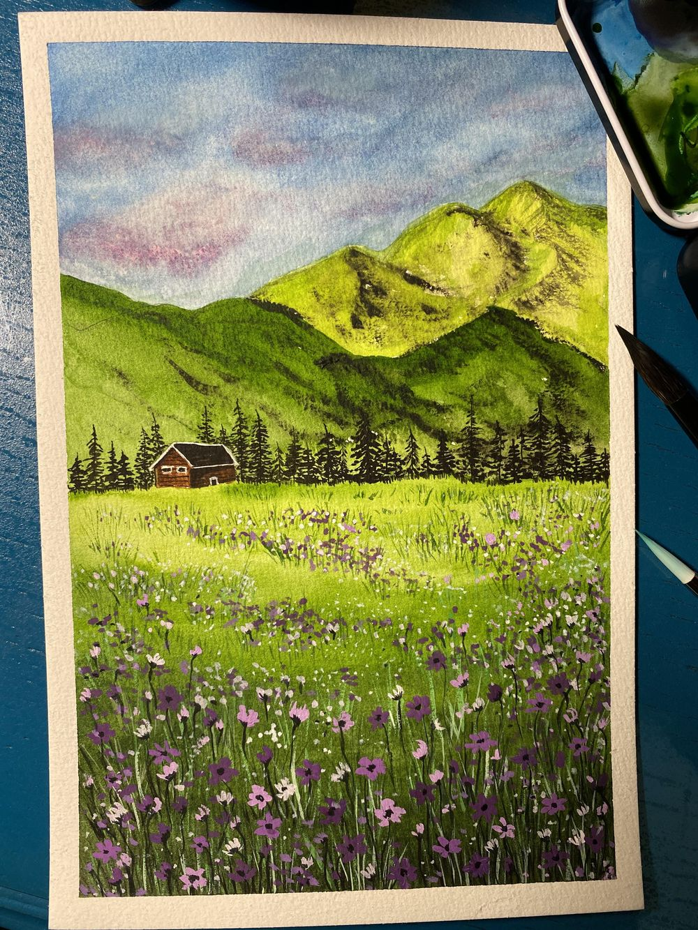 My Flower Meadow - image 1 - student project