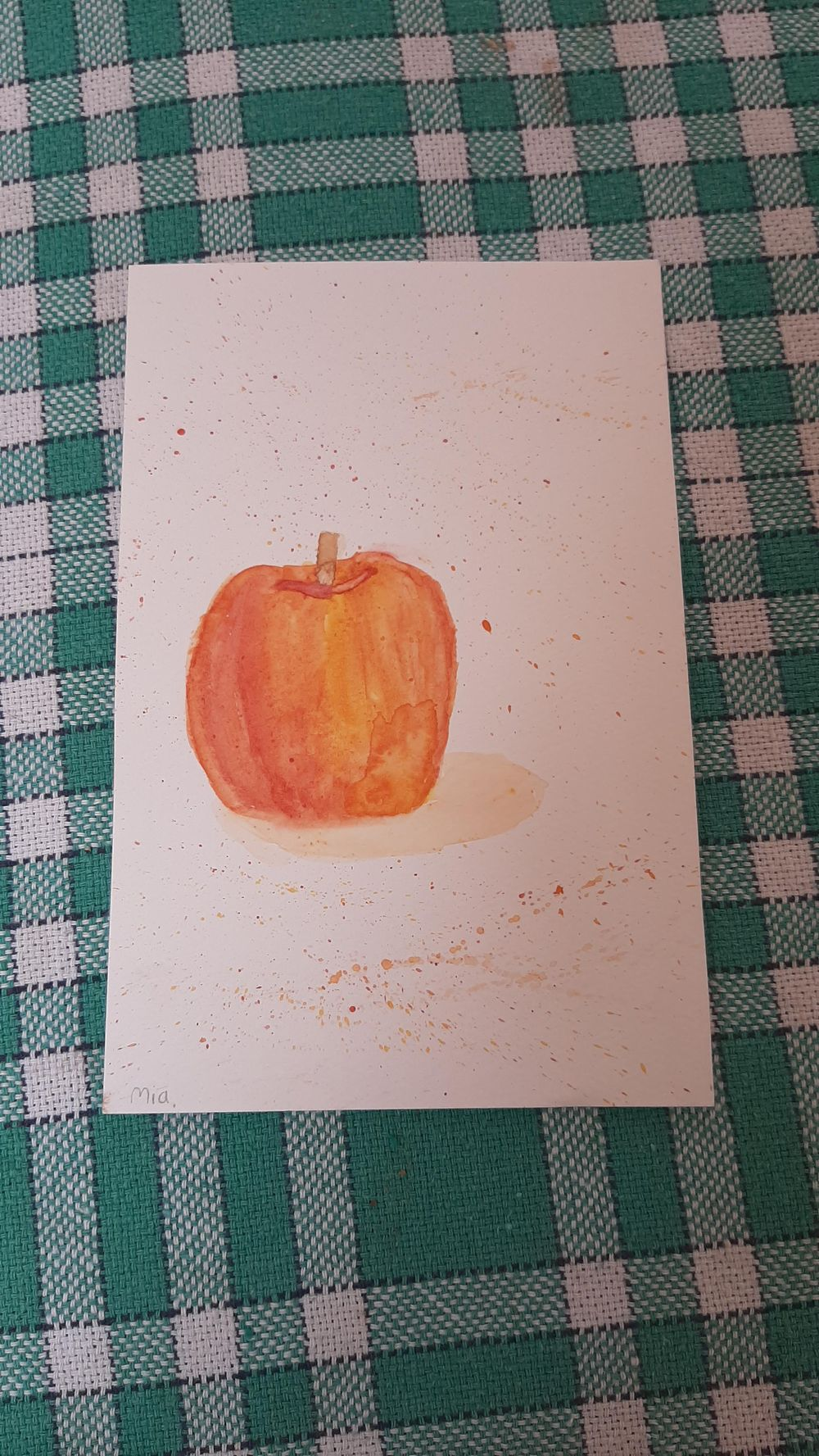 Watercolor with Yasmina - image 1 - student project