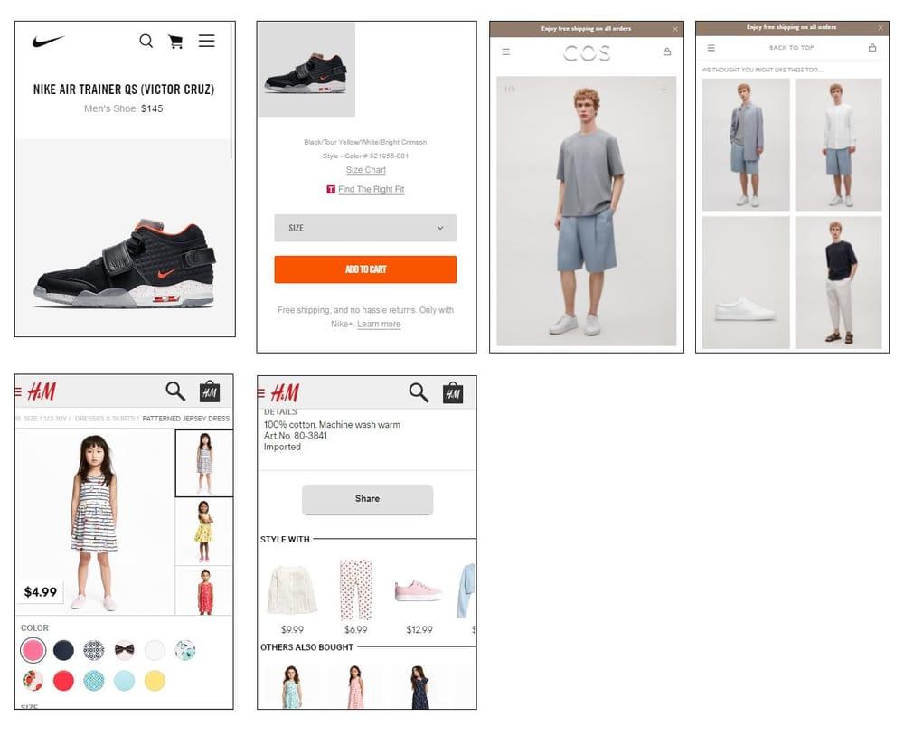 Mobile shopping app UI design - Vans - image 4 - student project