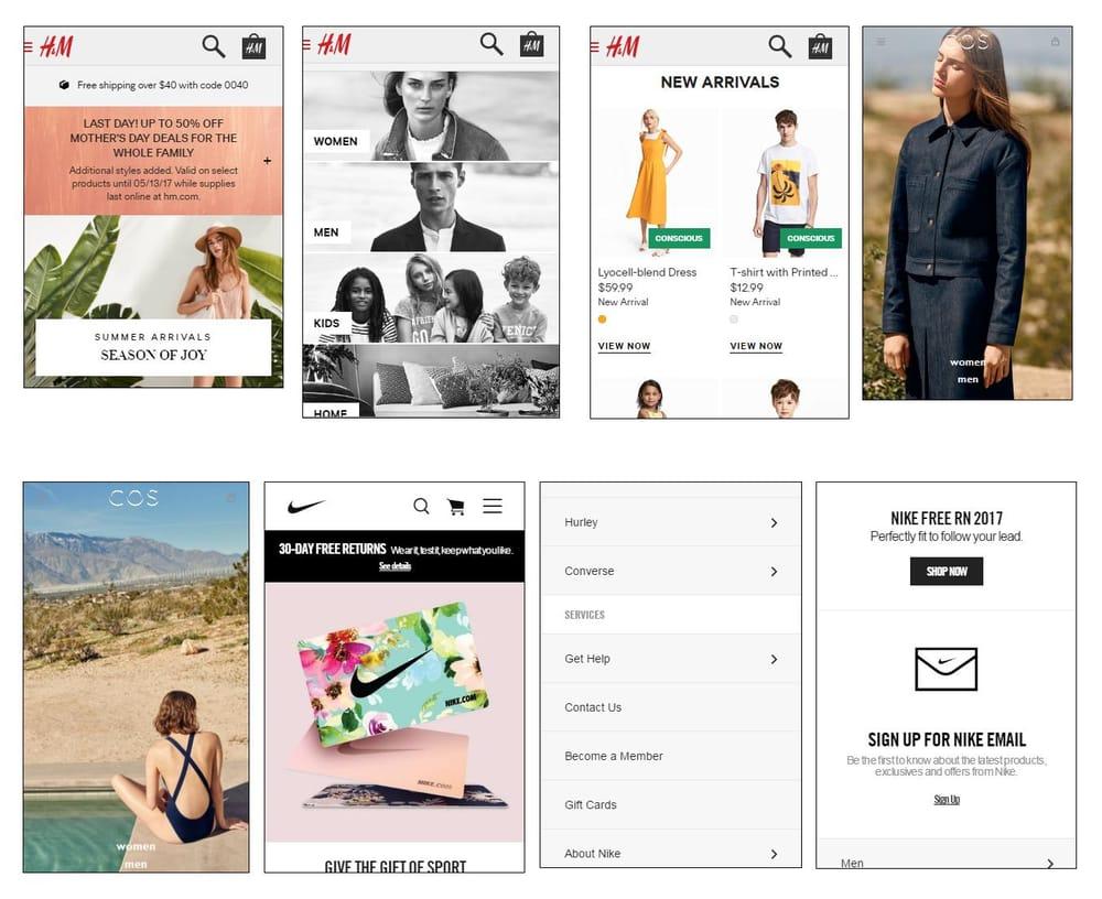 Mobile shopping app UI design - Vans - image 2 - student project