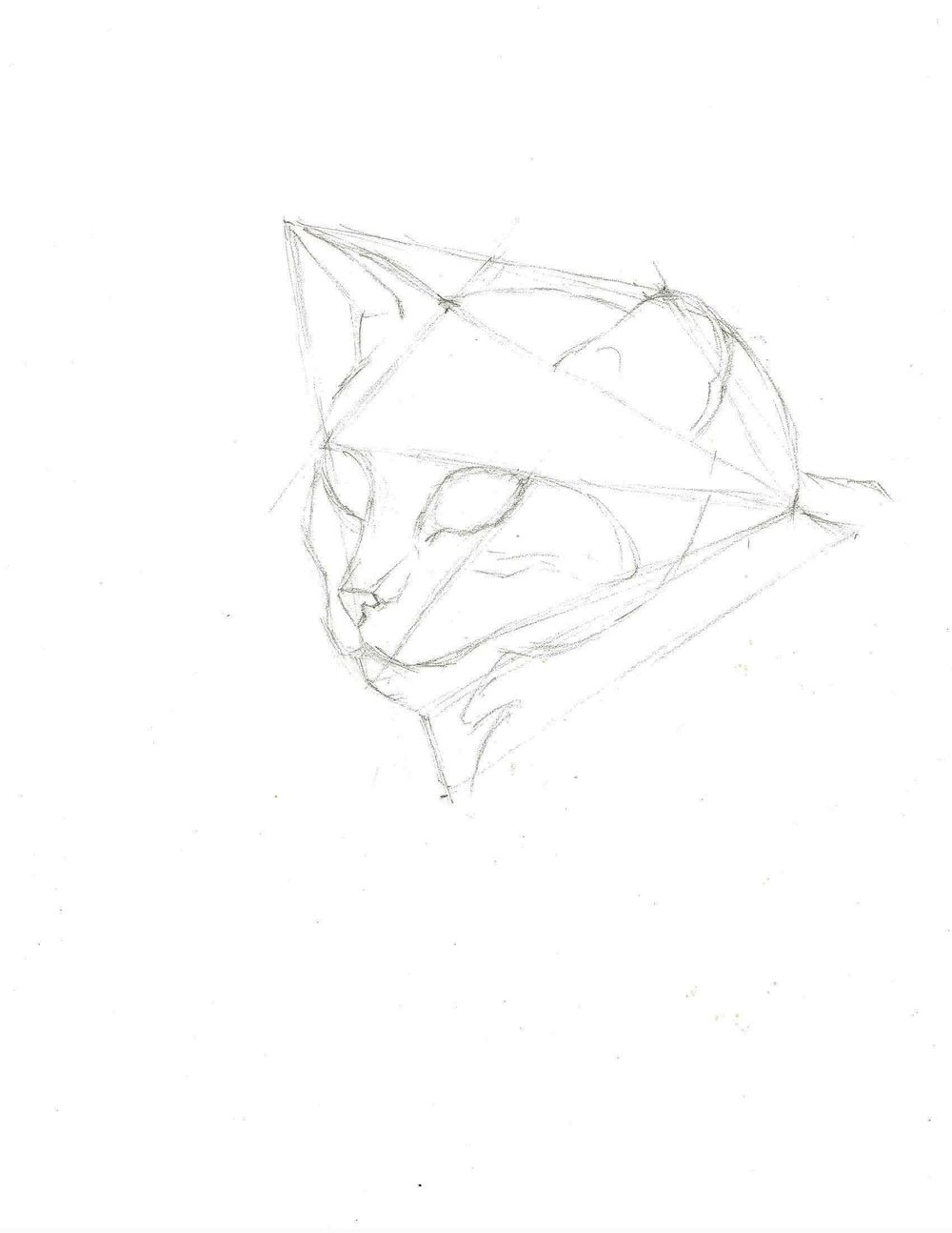 10 minute sketch - image 2 - student project