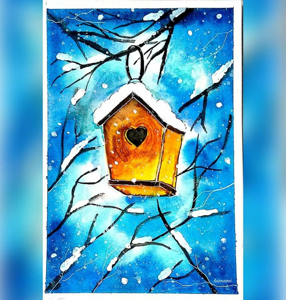 The Lantern, Freezing cold, The Bird House - image 3 - student project