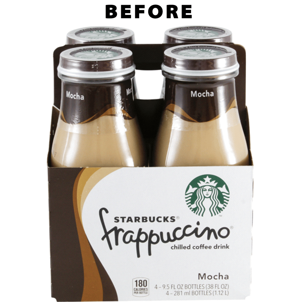 Starbucks Frappuccino Logo Before/After - image 2 - student project