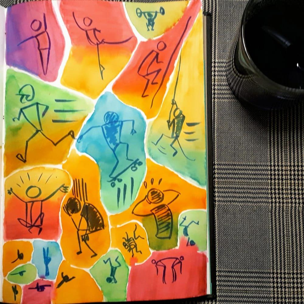 Stick figure gestures - image 1 - student project