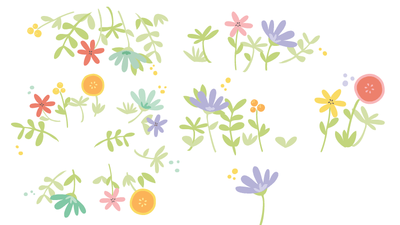 Bloom! pattern :) - image 2 - student project