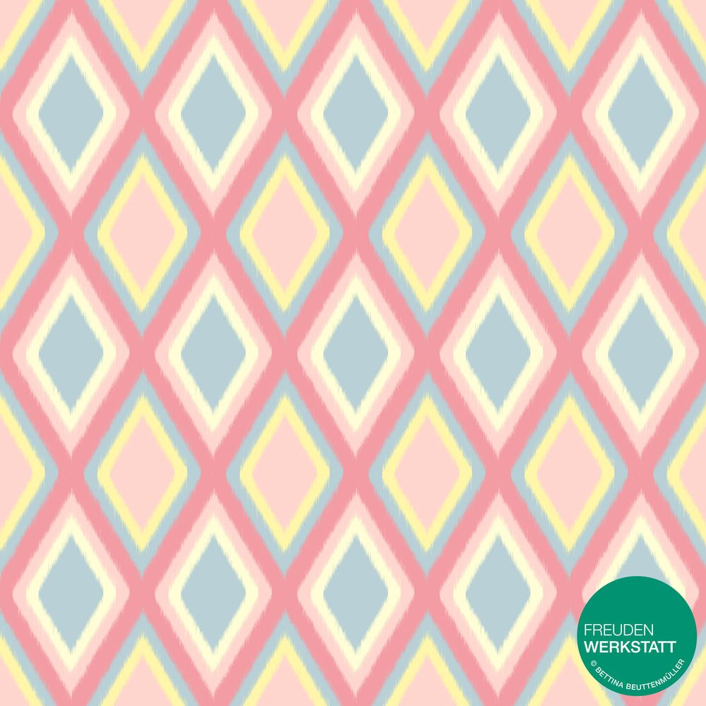 Pastell Ikat Patterns - image 1 - student project