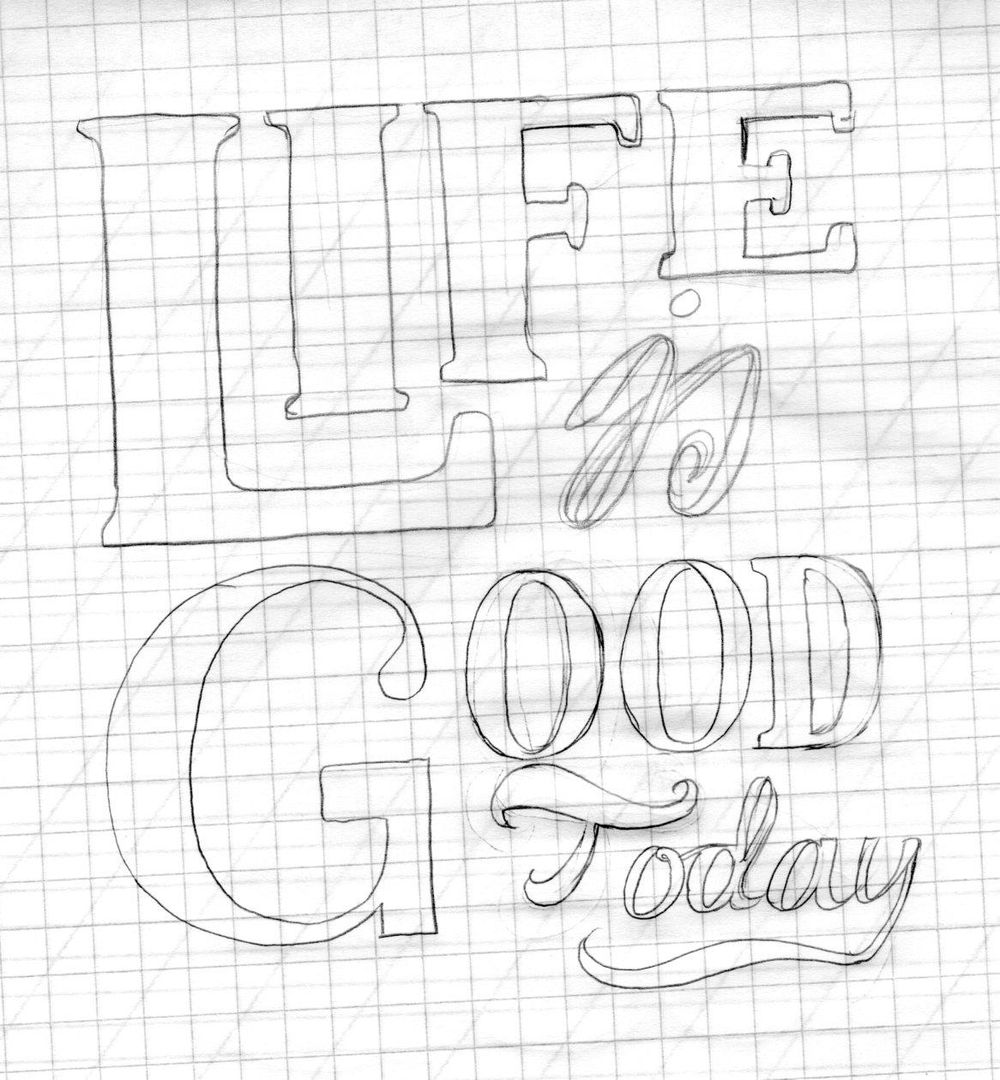 Life is Good Today - image 5 - student project