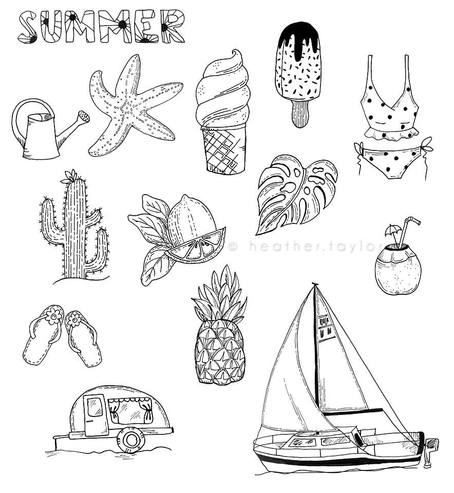 50-ish Doodles - image 3 - student project