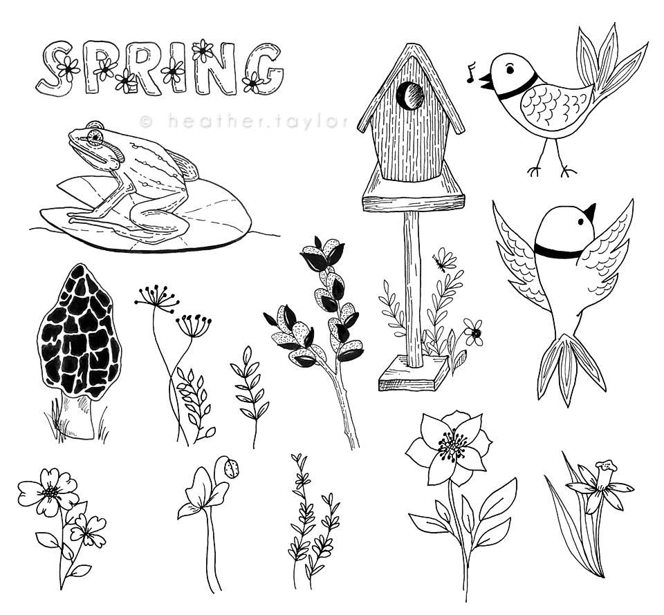 50-ish Doodles - image 2 - student project