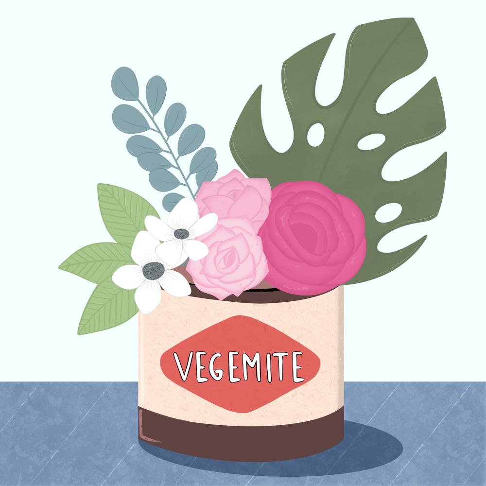 Vegemite bouquet - image 1 - student project
