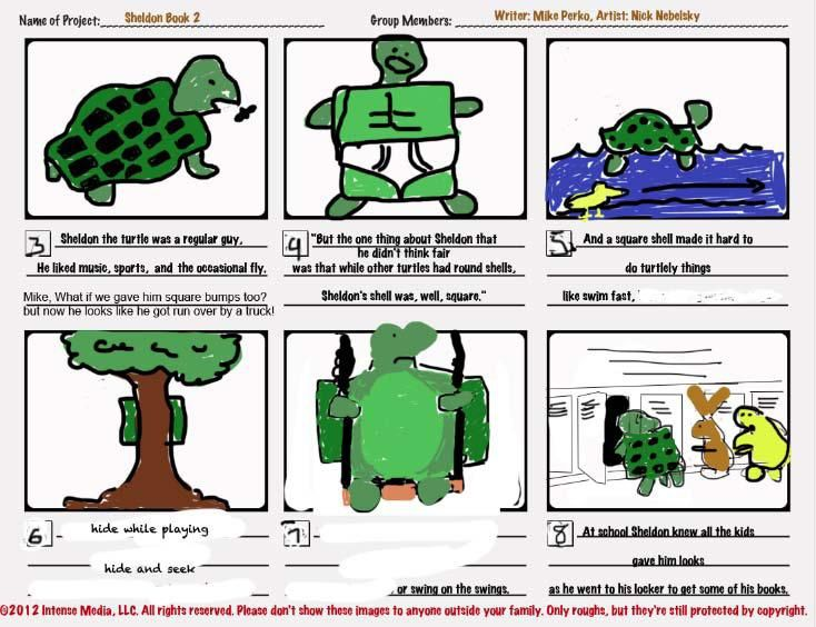 """Cornered! The story of a turtle with a """"Square Shell.""""  - image 1 - student project"""