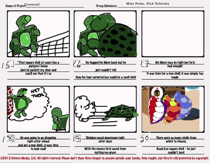 """Cornered! The story of a turtle with a """"Square Shell.""""  - image 3 - student project"""