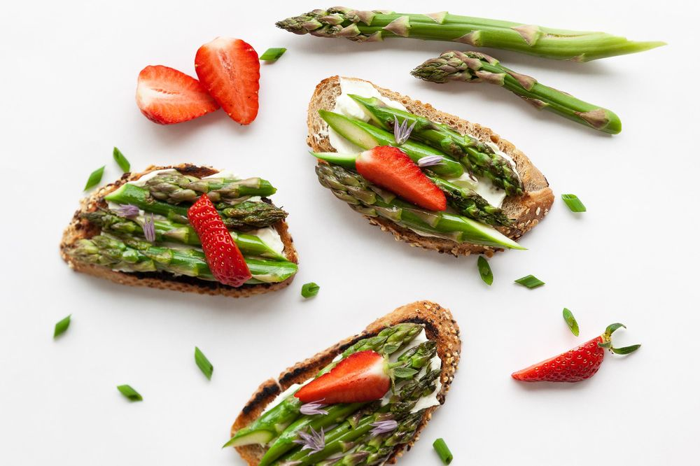 Asparagus Toast - image 1 - student project