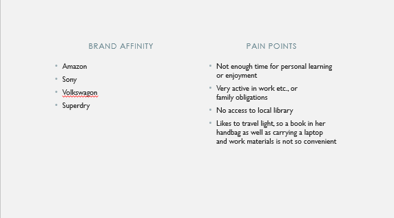 Customer Persona - Audible - image 5 - student project