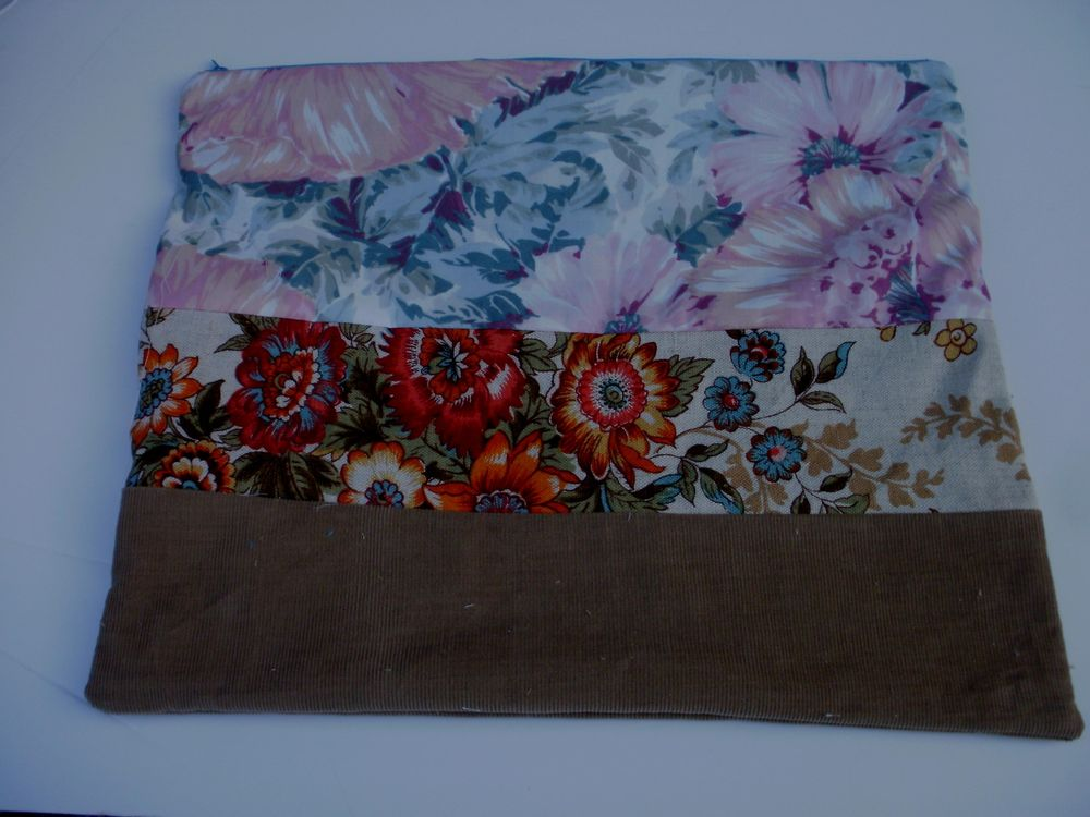 My finished zippered pouch - image 1 - student project