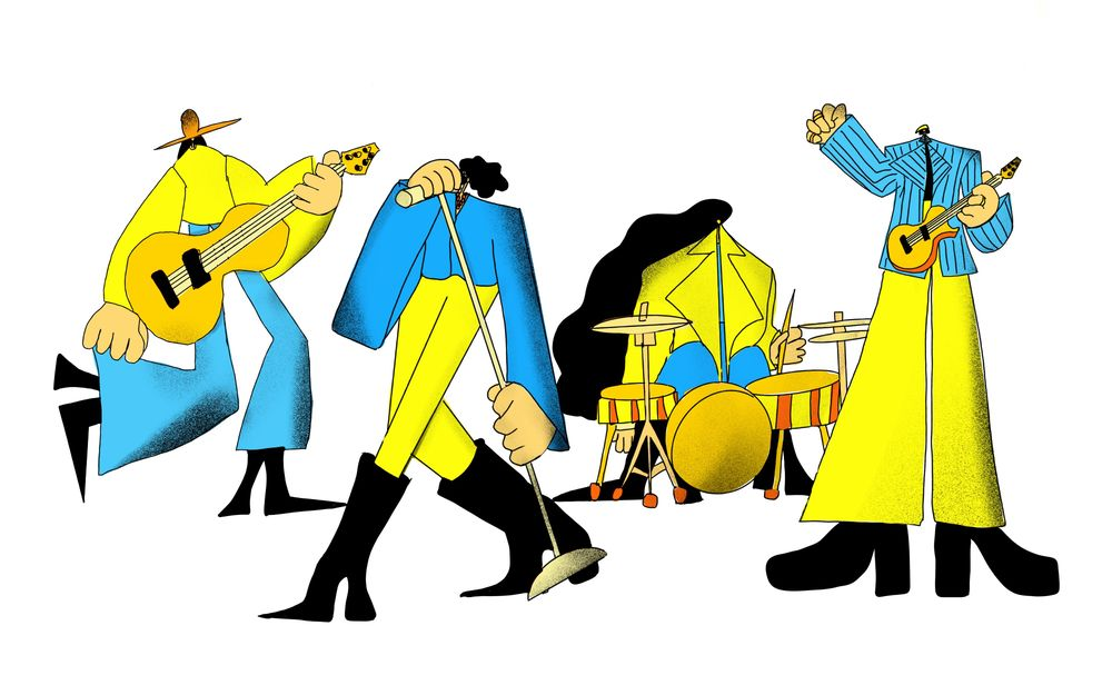 Music band - image 3 - student project