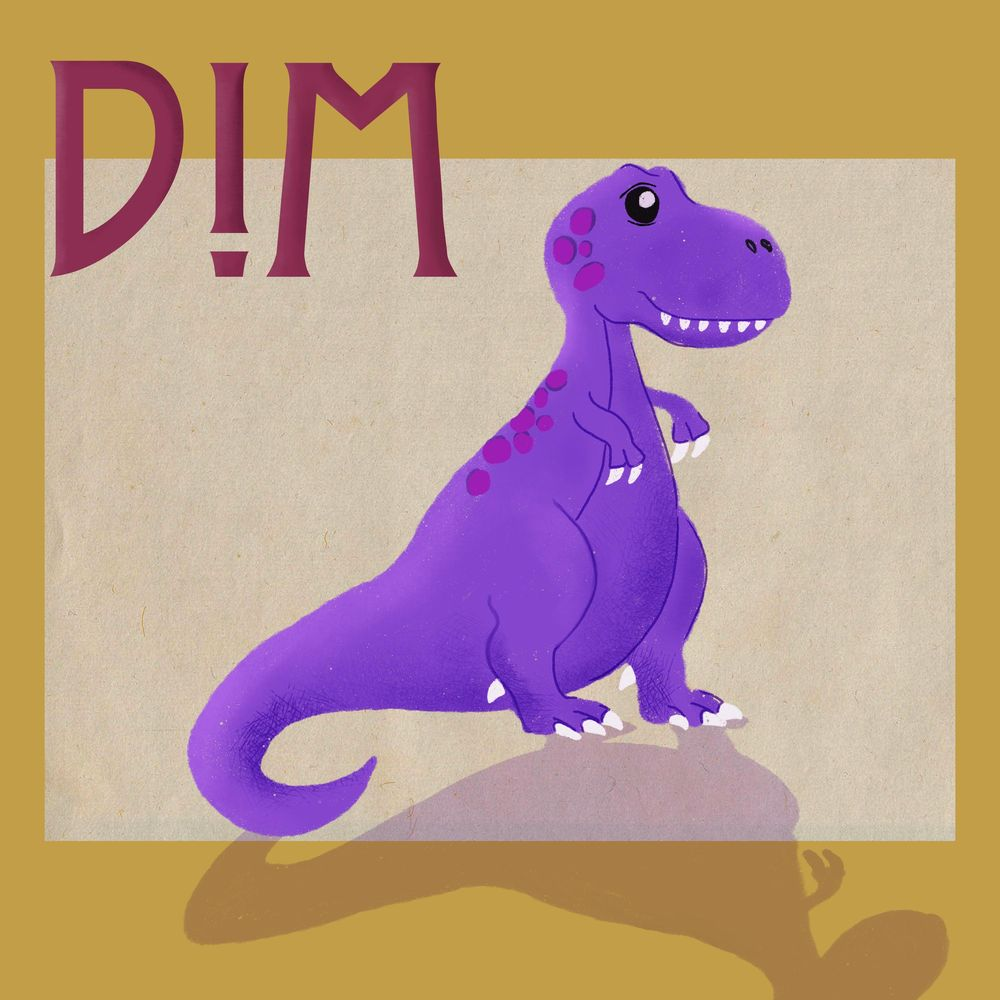 Dino's & textures - image 2 - student project