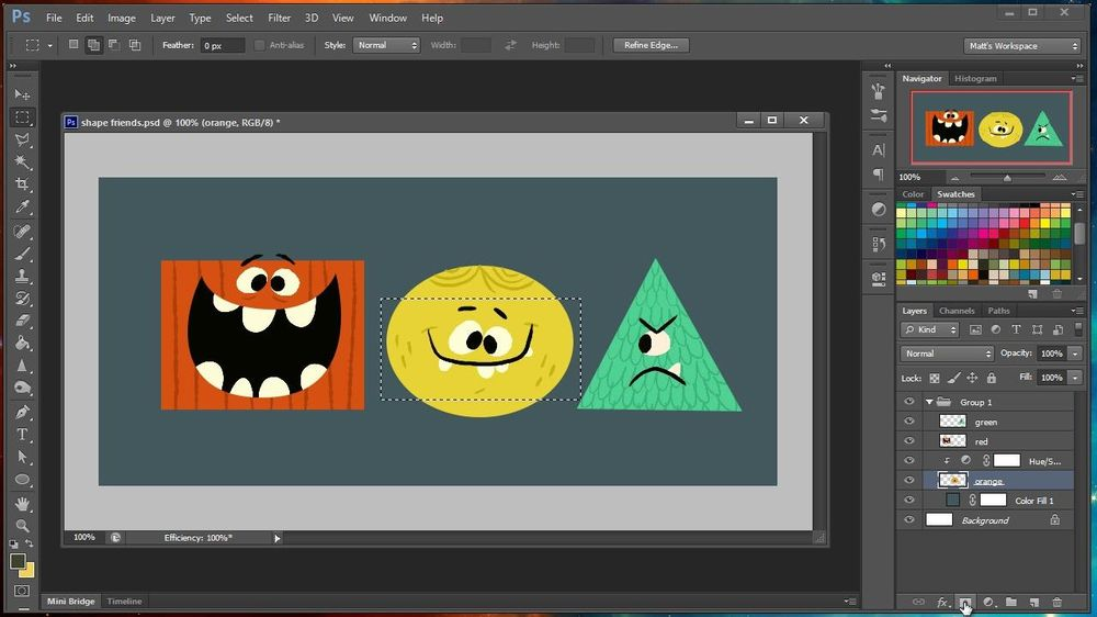 Introduction to Adobe for Creatives - image 1 - student project