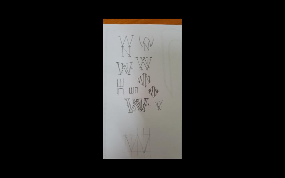 WN Monogram  - image 2 - student project